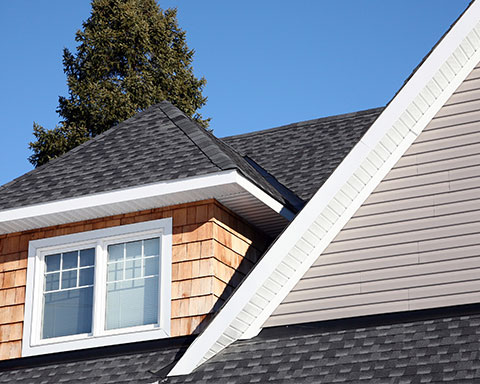 Armstrong & Nelson Eavestroughing Roofing Project 1