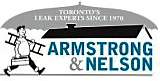 Armstrong & Nelson Eavestroughing Logo